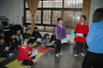 Photo2 chine 2010 cours avec les enfants